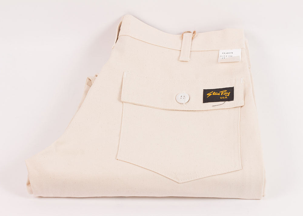 Stan Ray 1300 Slim Fit Fatigue Pant | Natural Twill