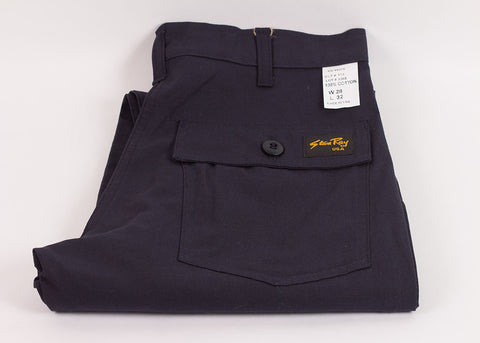Stan Ray 1300 Slim Fit Fatigue Pant | Navy Ripstop