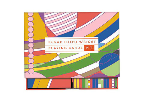 Gallison Frank Lloyd Wright  | Playing Card Set