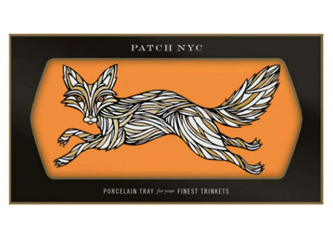 Patch NYC Ceramic Tray | Fox