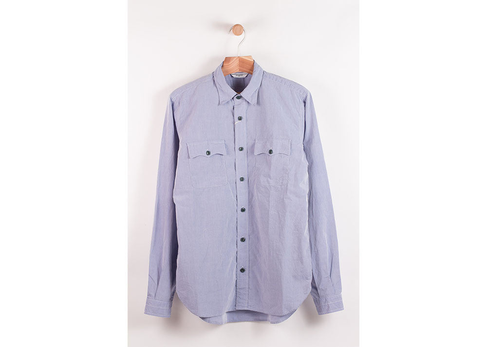 Fujito Safari Shirt | Blue