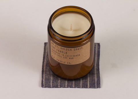 PF CANDLE CO NO. 21 GOLDEN COAST CANDLE SOY CANDLE