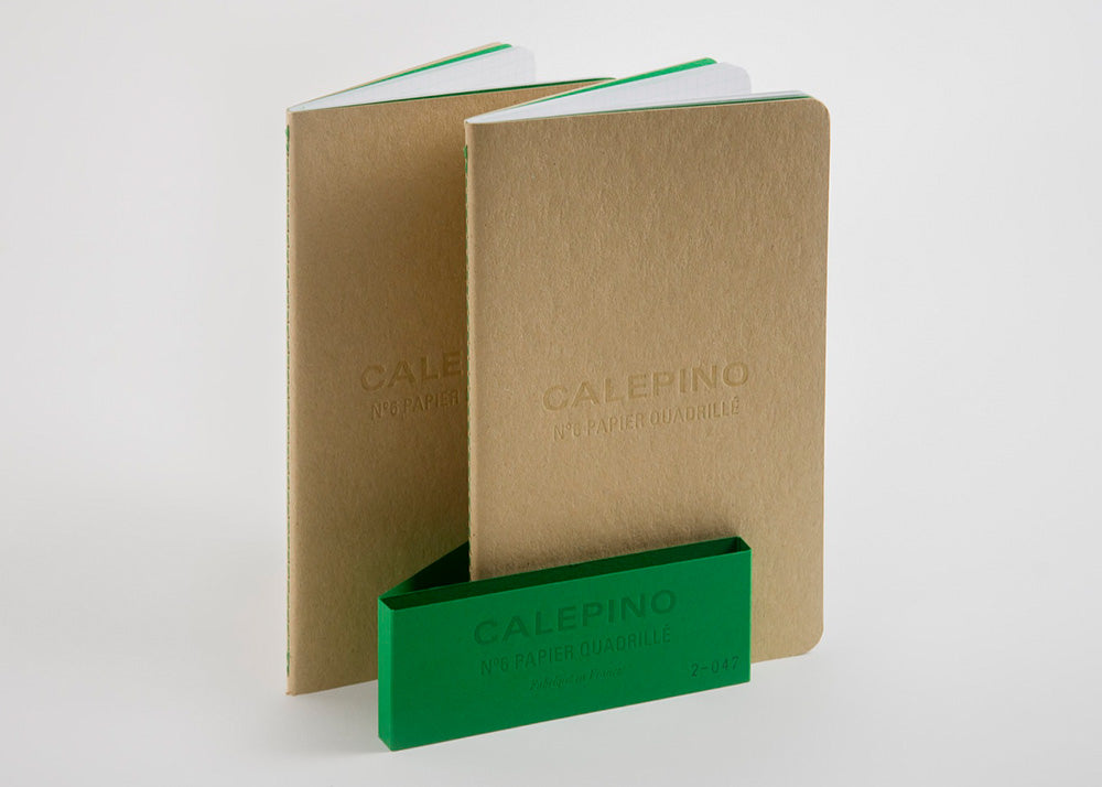 Calepino Set of 2 Large Notebooks | Graph