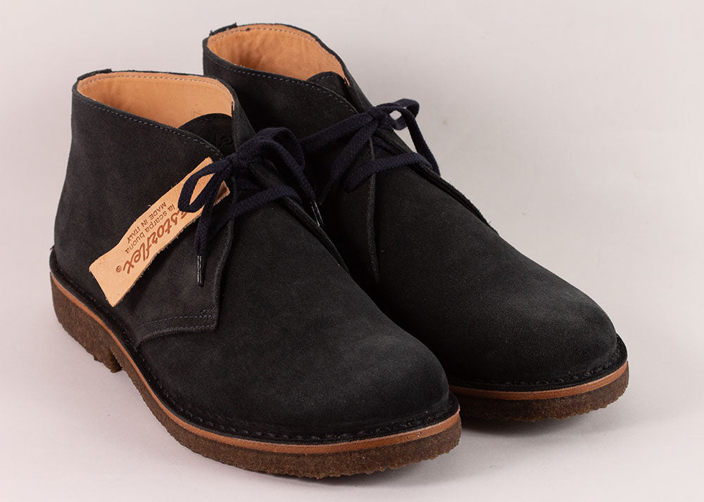 Astorflex Greenflex Desert Boot | Navy Suede