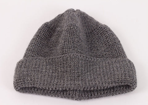 Leuchtfeuer Strickwaren Traditional Mariner Cap - Grey