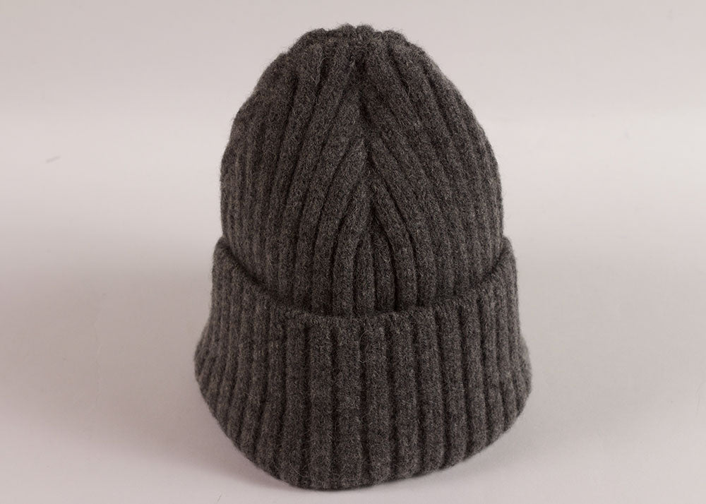 Shopkeeper Lambswool Watch Cap | Grey