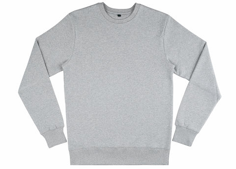 Earth Positive Organic Cotton Sweatshirt | Marl Grey
