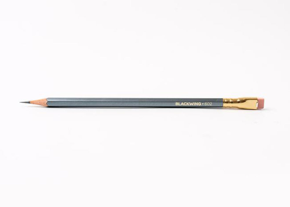 Blackwing 12 x 602 Firm Graphite Pencils  | Gunmetal Grey