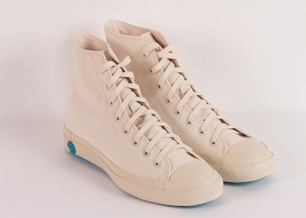 Shoes Like Pottery Natural Canvas | High Top