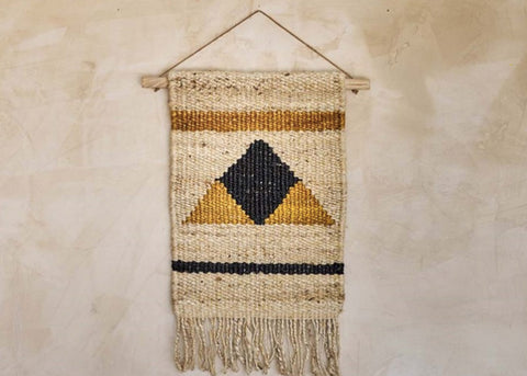 Nkuku Hombi Hemp Wall Hanging | Triangle