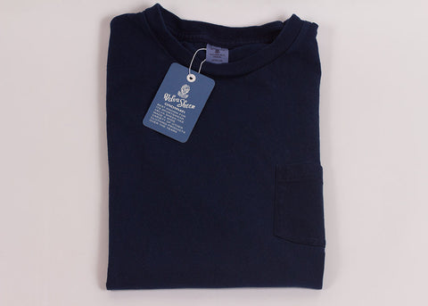 Velva Sheen Original Pocket T-Shirt | Indigo Dye