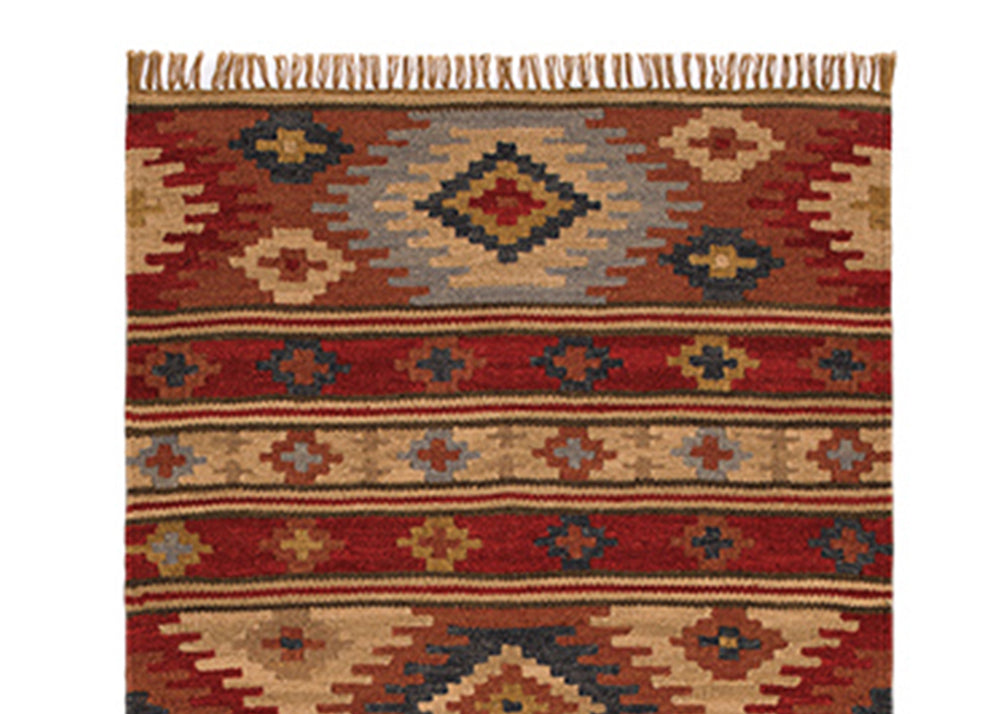 Good Weave Kashi Handloom Killim Rug