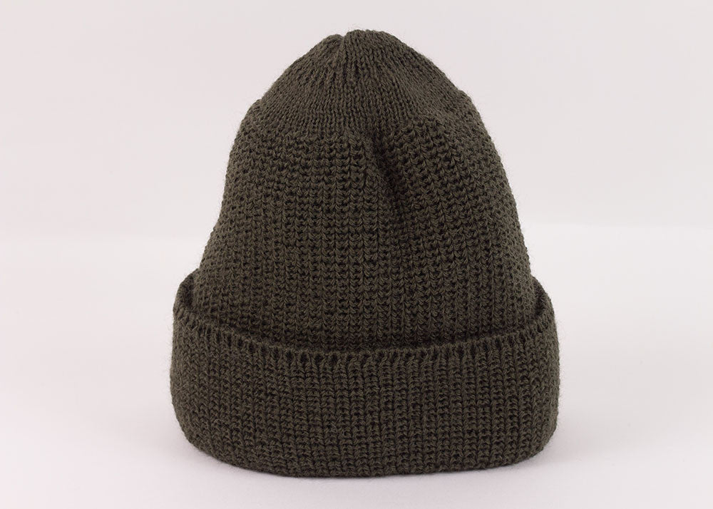 Leuchtfeuer Strickwaren Traditional Watch Cap - Khaki
