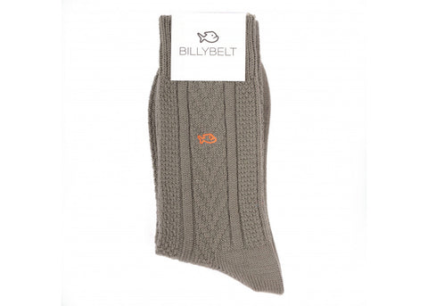 Billybelt Merino Aran Socks | Sage Green