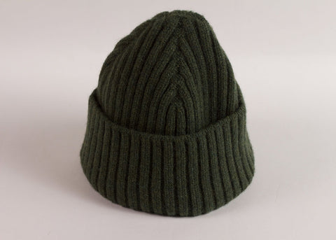 Shopkeeper Lambswool Watch Cap | Rosemary