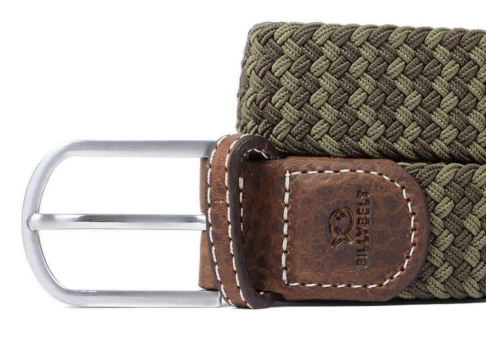 Billybelt Woven Belt | Green Mix