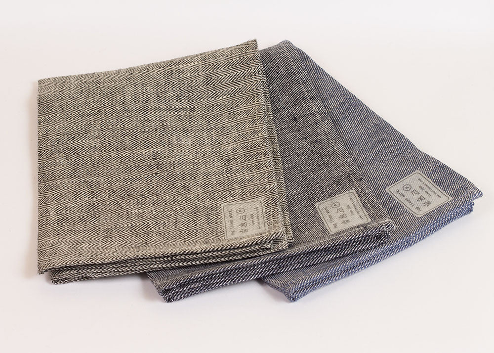 Fog Linen Work Linen Kitchen Cloth - chambray
