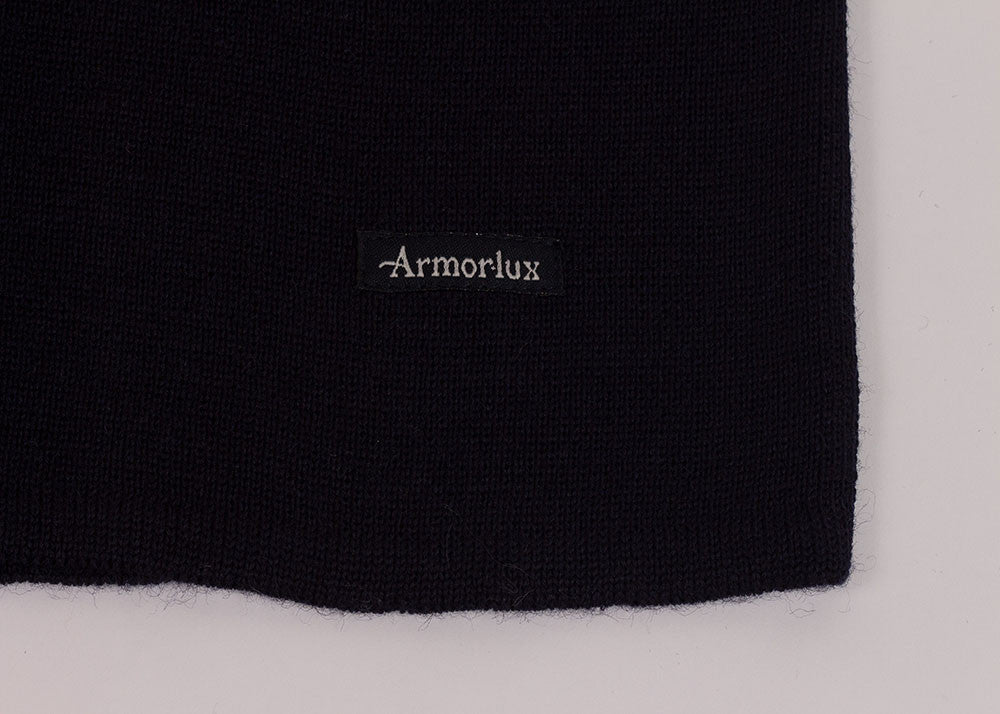 Armor-Lux Wool Mariner Crew Knit | Navy
