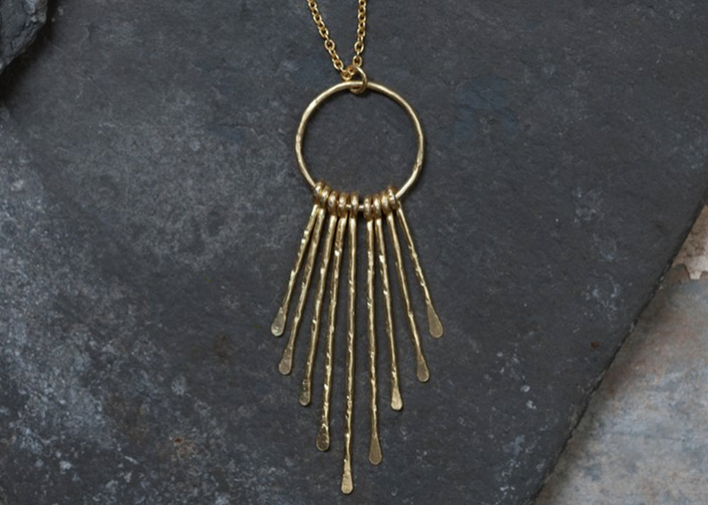 Nkuku Kuya Drop Necklace