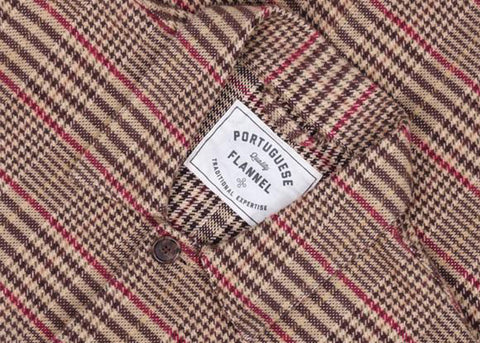 Portuguese Flannel Labura Jacket | Check Flannel