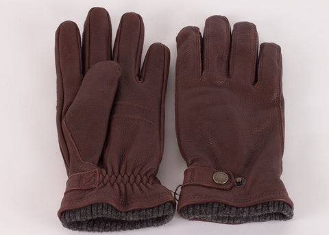 Hestra Utsjo Elk Leather Glove - Expresso Brown