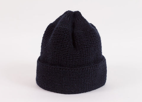 Leuchtfeuer Strickwaren Traditional Mariner Cap - Navy