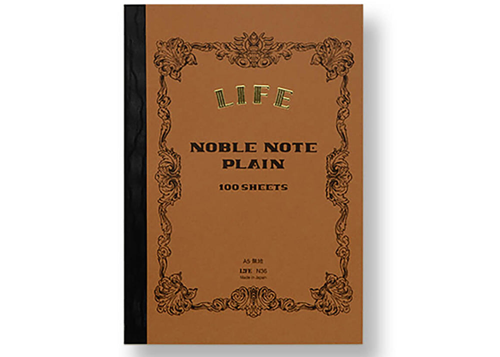Life Stationery A5 Notebook | Plain