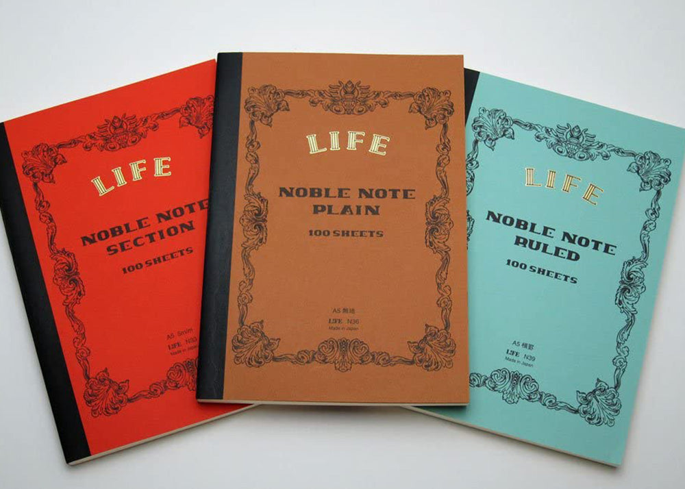 Life Stationery A5 Notebook | Ruled