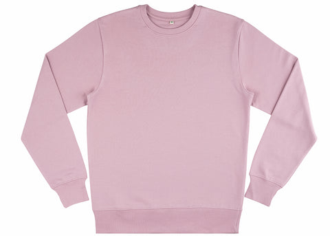 Earth Positive Women's Organic Cotton Sweatshirt | Lilac