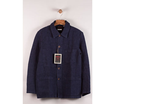 Vetra No 5C Linen Workwear Jacket | Waid