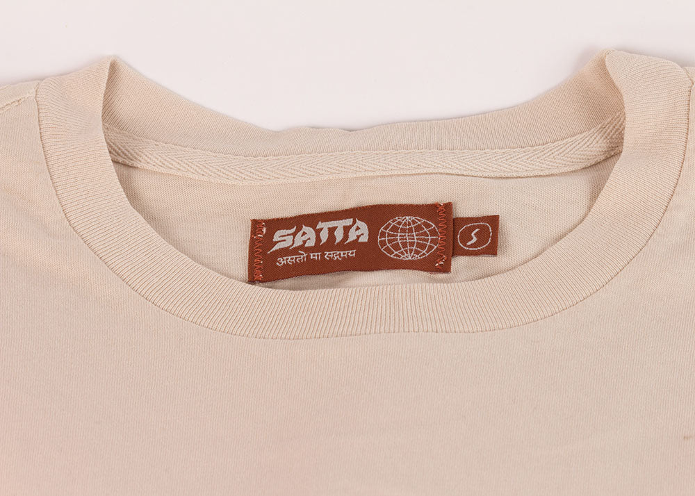 Satta Livity Tee | Washed Calico