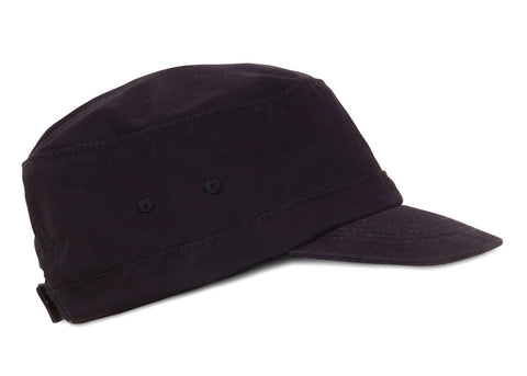 Mousqueton Kid's Canvas Breton Cap | Marine