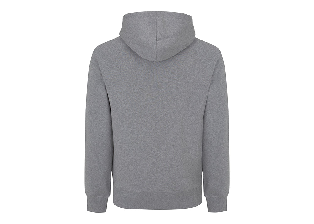 Earth Positive Organic Cotton Hooded Sweatshirt | Marl Grey