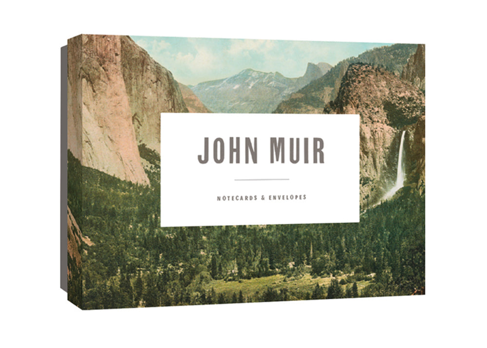 Princeton Architectural Press Muir Notecards | John Muir