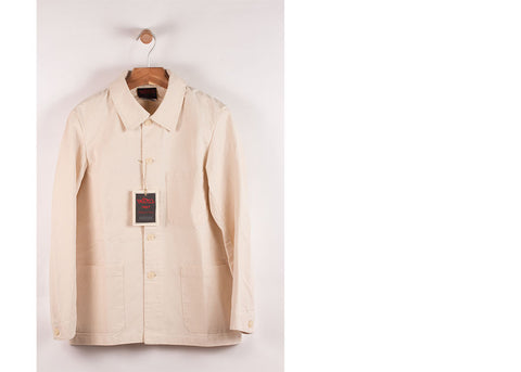 Vetra Organic Cotton Workwear Jacket | Natural