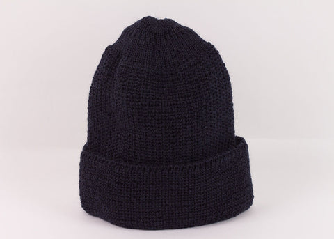 Leuchtfeuer Strickwaren Traditional Watch Cap - Navy