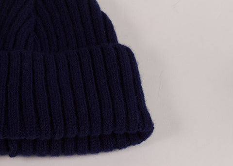 Shopkeeper Lambswool Watch Cap | French Blue