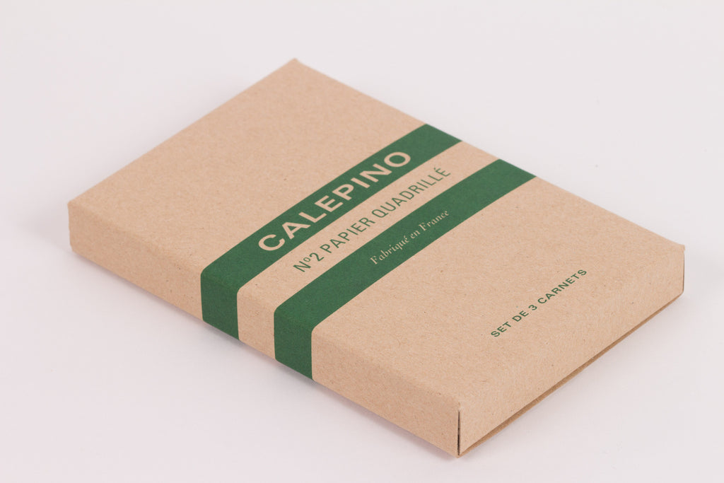 Calepino Set of 3 Notebooks - Graph Paper