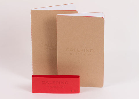 Calepino Set of 2 Large Notebooks - Ruled