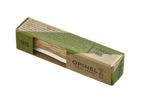 Opinel Classic No.08 Knife | Oak Handle