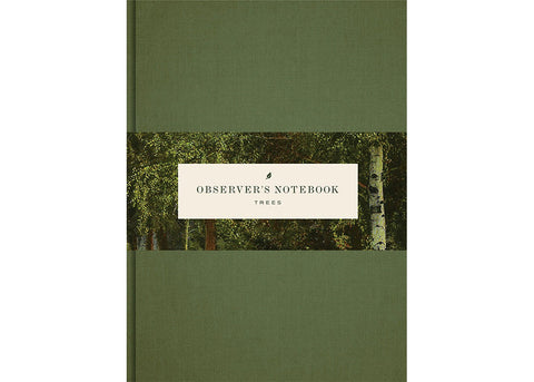 Princeton Architectural Press Observer's Notebooks | Trees