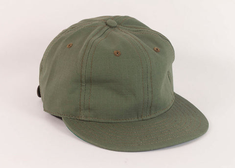 Ebbets Field Flannels Military 1940's Ball Cap | Olive Drab Ripstop