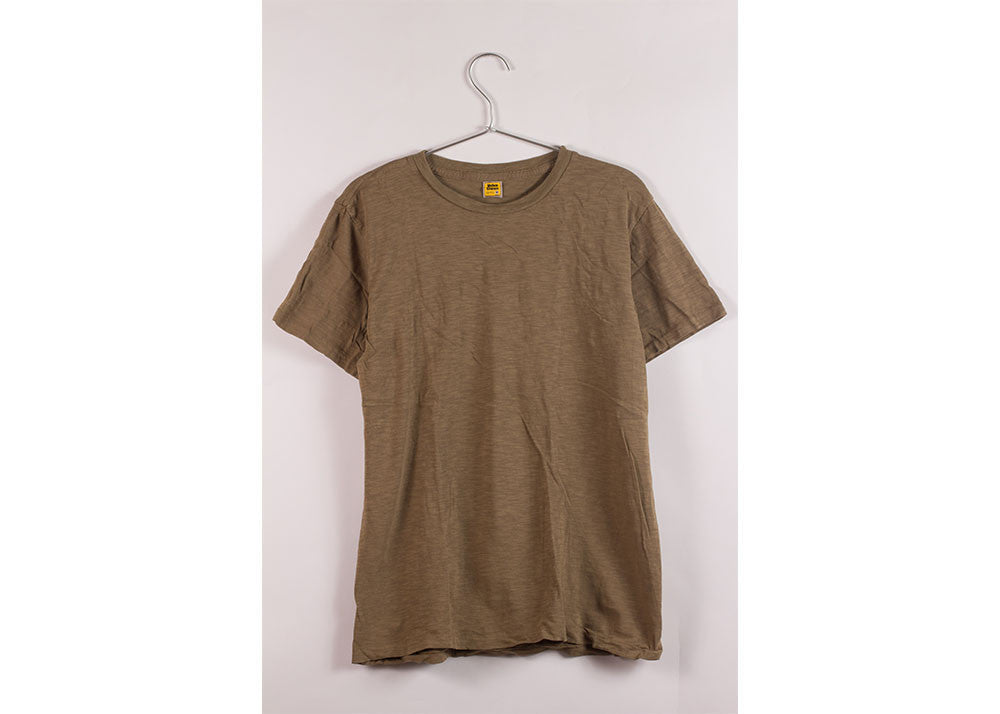 Velva Sheen Rolled Short Sleeve Regular Tee | Olive Drab