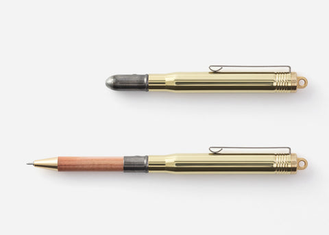 Traveller's Company Brass & Cedarwood Pen