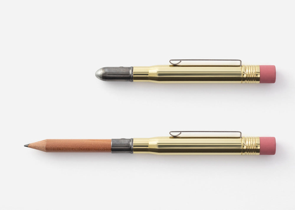 Traveller's Company Brass & Cedarwood Pencil