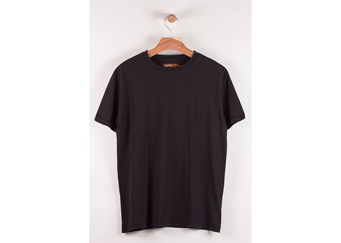 Satta Organic Basic Tee | Washed Black