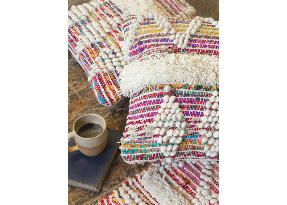 Good Weave Wool & Recycled Cotton Cushion | 60 x 45cm