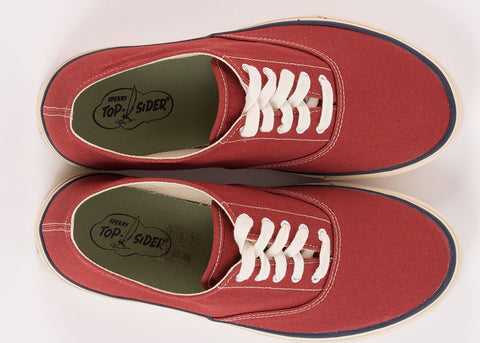 Sperry CVO Canvas Deck Shoe - Brick