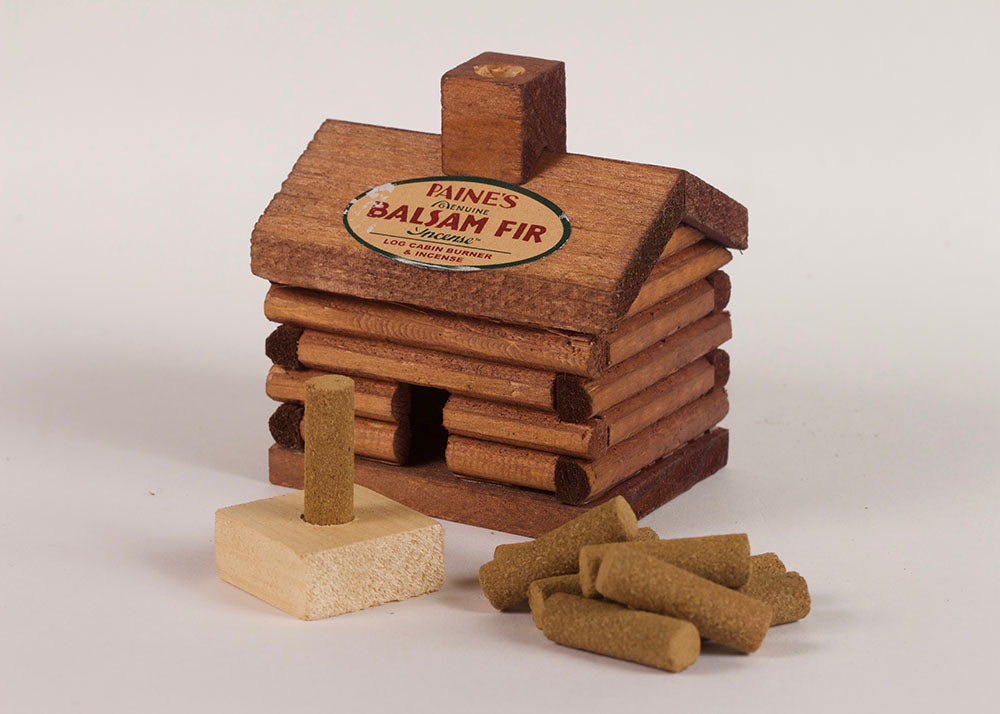 Paines Incense Balsam Fir | Log Cabin Burner