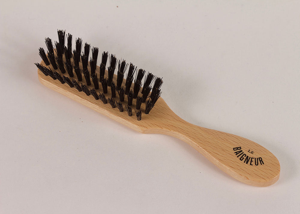 Le Baigneur Beard Brush | Beechwood & Boar Bristle